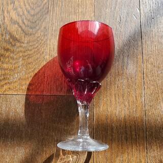箱根ガラスの森 赤のクリスタルグラス(ガラス)