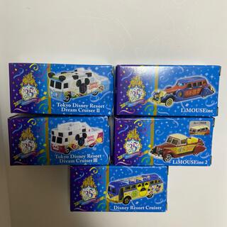 Disney - ディズニートミカ   5台セット