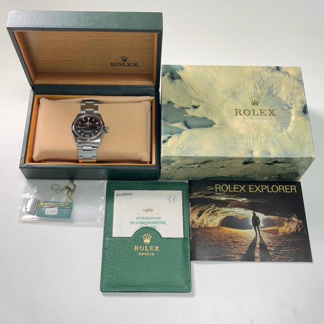 ROLEX(ロレックス)のエクスプローラー1 Ref.14270 メンズの時計(腕時計(アナログ))の商品写真