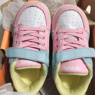 gravis - gravis スニーカー 靴 シューズ パステル 女の子 16cm