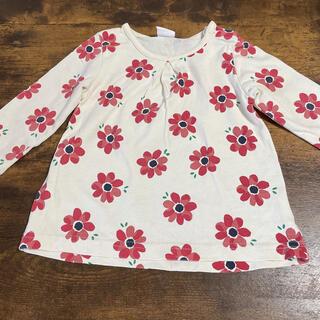 アカチャンホンポ(アカチャンホンポ)の女の子長袖 80 花柄(シャツ/カットソー)