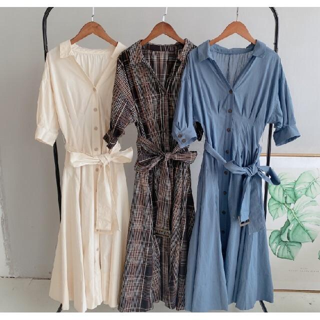 snidel(スナイデル)のバブルスリーブ高ウエストは、スリムなロングスカートを着用します レディースのワンピース(ロングワンピース/マキシワンピース)の商品写真