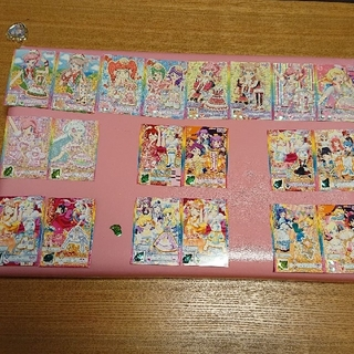 タカラトミーアーツ(T-ARTS)のプリパラカード☆まとめ売り♪(カード)
