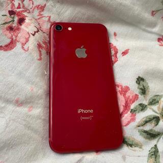 Apple - iPhone8 赤 美品 レッド