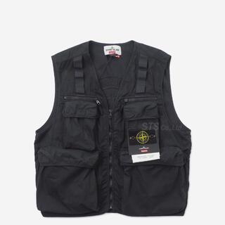 シュプリーム(Supreme)のsupreme stone island Camo Cargo Vest(ベスト)