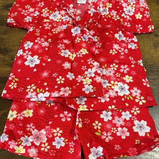 女の子 甚平 80(甚平/浴衣)