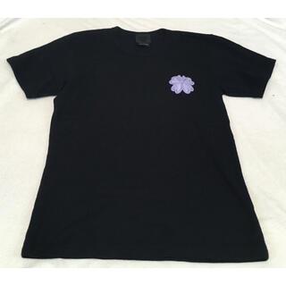 アナスイ(ANNA SUI)の伊勢丹購入 アナスイバタフライクローバーTシャツS ブラック日本製(Tシャツ(半袖/袖なし))