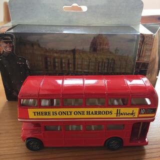 英ハロッズ ロンドン2階建バス ダブルデッカー(ミニカー)