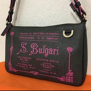 BVLGARI - BVLGARI‼️美品(^^)小さ目PVCショルダー‼️