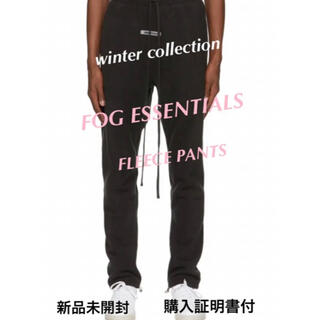 FEAR OF GOD - 購入証明書付 fog essentials fleece pants パンツ