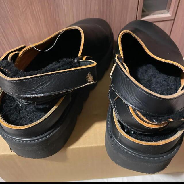 Hender Scheme(エンダースキーマ)のエンダースキーmouton zook シューズ レザー メンズの靴/シューズ(サンダル)の商品写真
