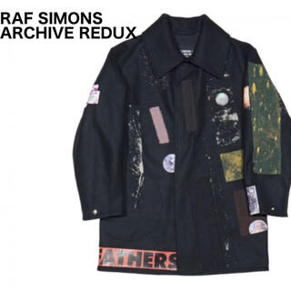 RAF SIMONS - ラフシモンズ  Large Sterling caban patches コート