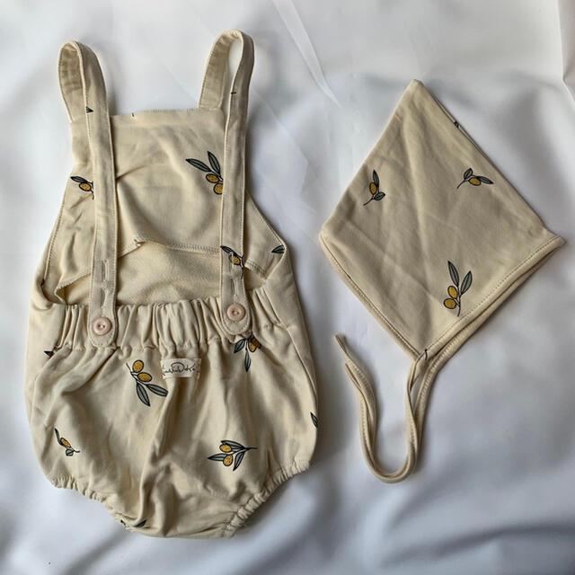 ロンパース レモン柄 73cm キッズ/ベビー/マタニティのベビー服(~85cm)(ロンパース)の商品写真