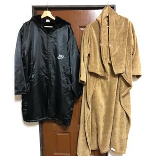 NIKE - NIKEベンチコート&着る毛布