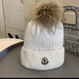 モンクレール(MONCLER)のニット帽 帽子 moncler モンクレール(その他)