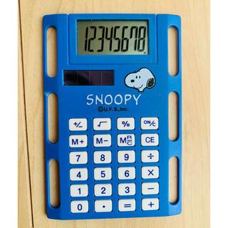 スヌーピー(SNOOPY)の手帳用 電卓 スヌーピー (その他)