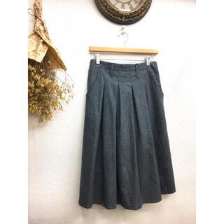 merlot - 新品 メルロー  スカート グレー 値下げ