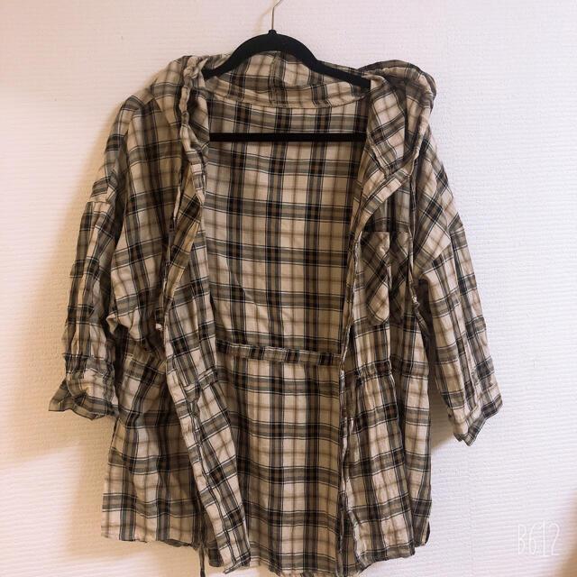 チェックシャツ レディースのトップス(シャツ/ブラウス(長袖/七分))の商品写真