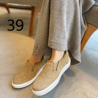 L'Appartement DEUXIEME CLASSE - カミナンド CAMINANDO Mouton Sneakers ベージュ 39