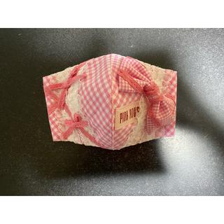 ピンクハウス(PINK HOUSE)のLピンクハウスピンクギンガム抗菌インナーマスク(その他)