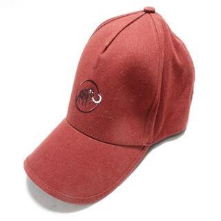 マムート(Mammut)の[Mammut] 帽子 ワインレッド メンズ(キャップ)