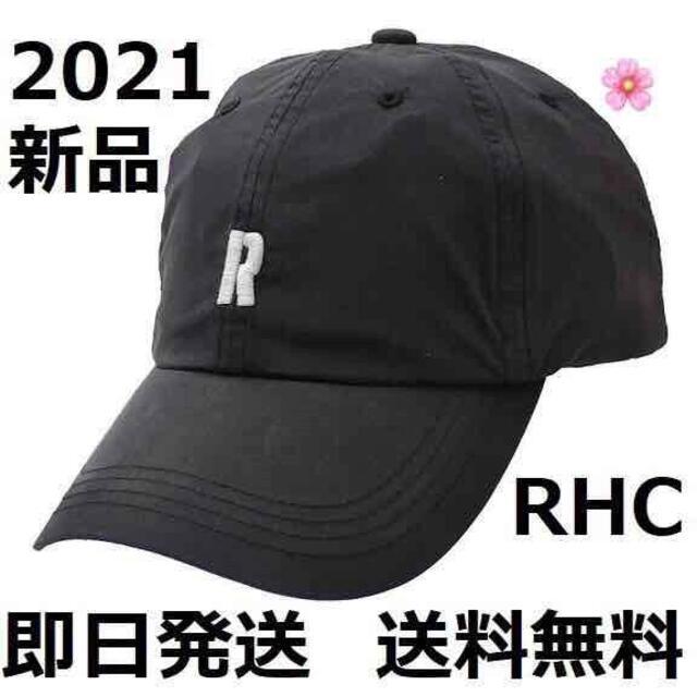 Ron Herman(ロンハーマン)の新品 RHC ロンハーマン STENCIL R CAP キャップ ブラック メンズの帽子(キャップ)の商品写真