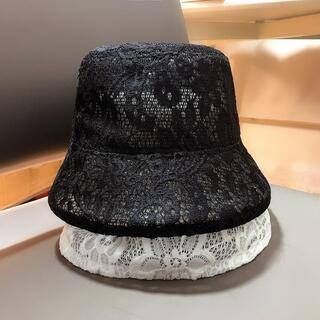 帽子の女性のレースのバケツの帽子(その他)