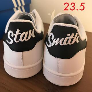 adidas - 【新品未使用】アディダス スタンスミス 刺繍 ブラック 23.5