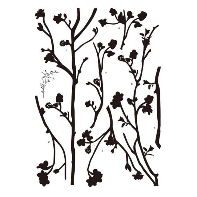 ニトリ(ニトリ)の(ニトリ)ウォールステッカー『リトルツリー』 インテリア/住まい/日用品のインテリア小物(その他)の商品写真