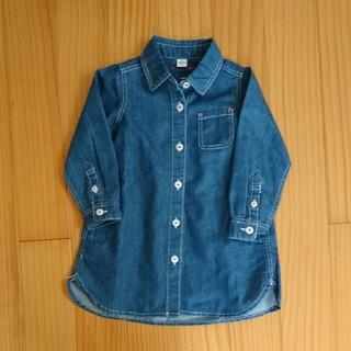 エフオーキッズ(F.O.KIDS)のアプレレクール 90cm ロング丈シャツ(Tシャツ/カットソー)