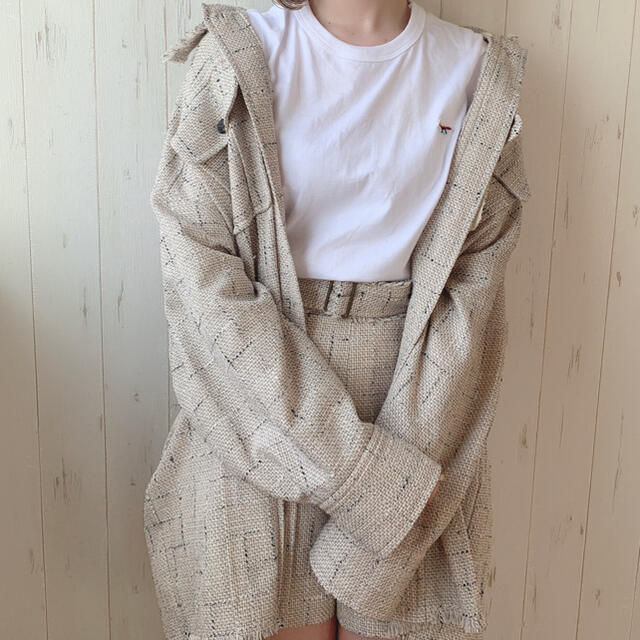 Lily Brown(リリーブラウン)の♡lilybrown ツイード セットアップ♡2019aw レディースのレディース その他(セット/コーデ)の商品写真