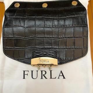 Furla - FURLA フラップ ブラック