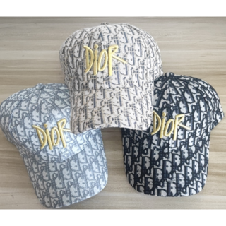 [2枚10000円送料込み]☆ディオール Diorキャップ帽子ロゴ男女兼用229