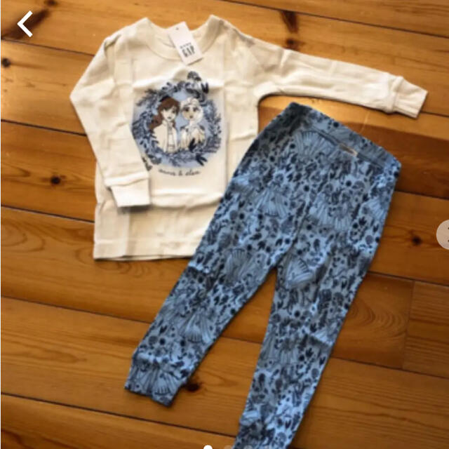 babyGAP(ベビーギャップ)の新品タグ付き babyGAP アナと雪の女王 パジャマ 90cm キッズ/ベビー/マタニティのキッズ服女の子用(90cm~)(パジャマ)の商品写真