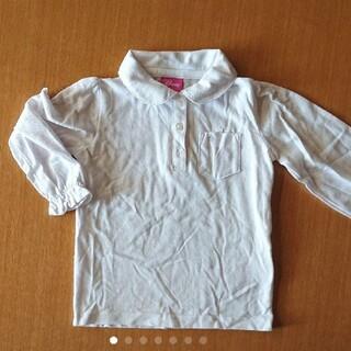 ディズニー(Disney)の白シャツ フォーマル 子ども 100(Tシャツ/カットソー)