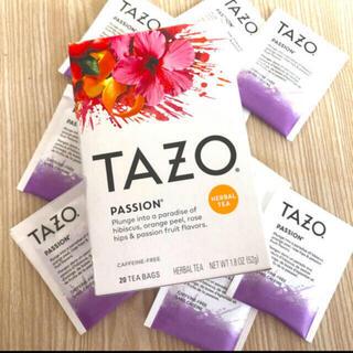 スターバックスコーヒー(Starbucks Coffee)の日本未発売 TAZO ハーブティー パッション 8袋(茶)