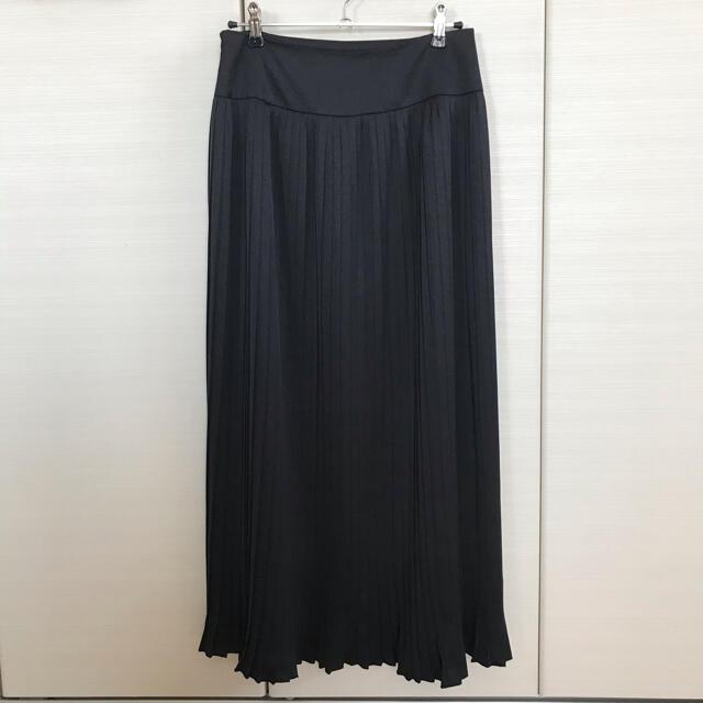 audrey and john wad(オードリーアンドジョンワッド)のオードリーアンドジョンワット バッグプリーツスカート サテン レディースのスカート(ロングスカート)の商品写真