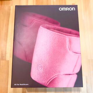 オムロン(OMRON)の【新品】レッグマッサージャー OMRON ピンク(フットケア)