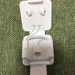 Apple - iPhone イヤホン 純正品