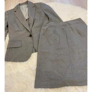 レディース グレー スーツ