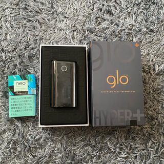 グロー(glo)のglo hyper+ ブラック(タバコグッズ)