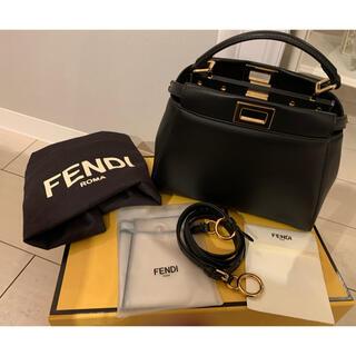FENDI - 新品未使用 フェンディ  ミニピーカーブー ブラック