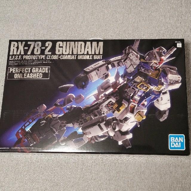 BANDAI(バンダイ)の RX-78-2 GUNDAM PG UNLEASHED  エンタメ/ホビーのおもちゃ/ぬいぐるみ(模型/プラモデル)の商品写真