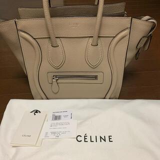 celine - ★旧ロゴ CELINE セリーヌ ラゲージ ハンドバッグ