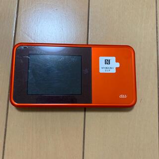 エーユー(au)のAU  ポケットWi-Fi(PC周辺機器)