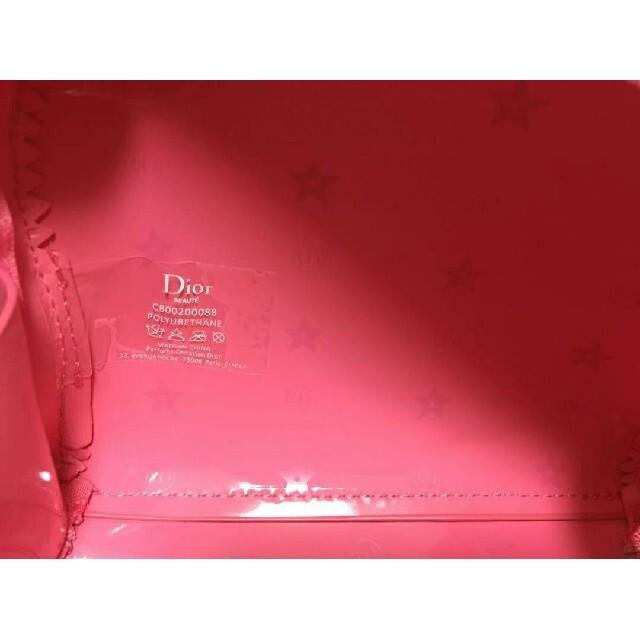 Dior(ディオール)のラスト一点ディオール限定ポーチ未使用ピンク大人気 レディースのファッション小物(ポーチ)の商品写真