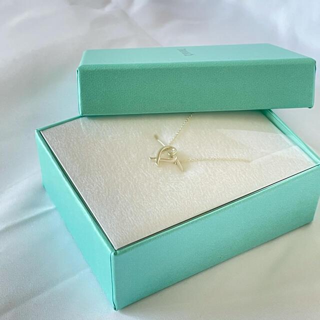 Tiffany & Co.(ティファニー)のティファニー ラビングハート ネックレス TIFFANY パロマピカソ レディースのアクセサリー(ネックレス)の商品写真