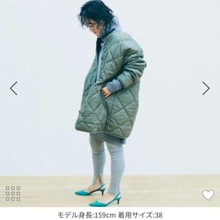 ROPE - 金子綾コラボ★ロペマドモアゼル キルティングジャケット ミリタリーコート