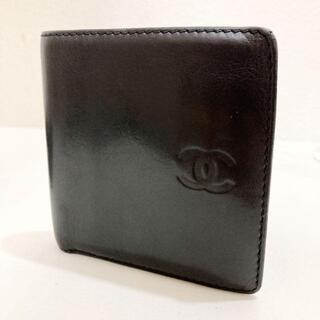 シャネル(CHANEL)のシャネル メンズ ディアスキン 二つ折り財布(折り財布)