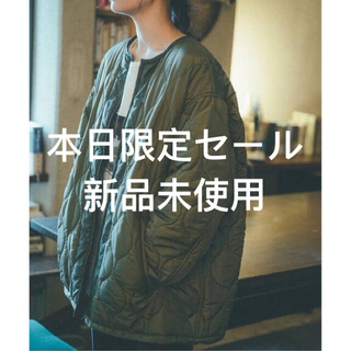 Spick and Span - 【YURIE A.× Spick & Span】キルテッドフィールドブルゾン2◆